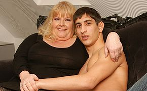 Insane <b>granny</b> gets plumbed by her toyboy