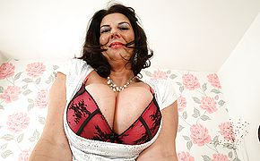 Large titted Brit mature hoe getting highly crazy