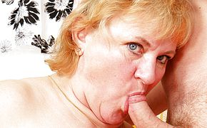 Mama enjoys drilling and blowing her guy plaything
