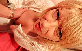 Super naughty British housewife Amy throating in <b>Pov</b> fashion