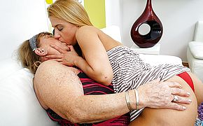 Hairy super hot honey doing a highly ultra kinky mature sapphic Bbw