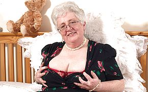 Granny what large breasts and a messy mind you have