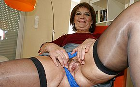 Mama loves her playthings when she is insatiable