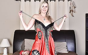 <b>Naughty</b> Canadian housewife frolicking with herself