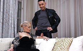 Blonde <b>mom</b> Miss Loly loves a good hard cock