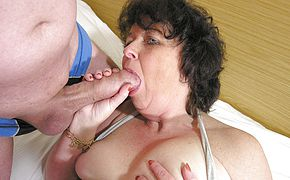 This super naughty mama enjoys to get pounded by 2 studs